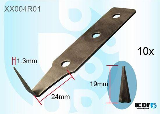 Zamjenska oštrica za nož za rezanje - 10 kom novi dio