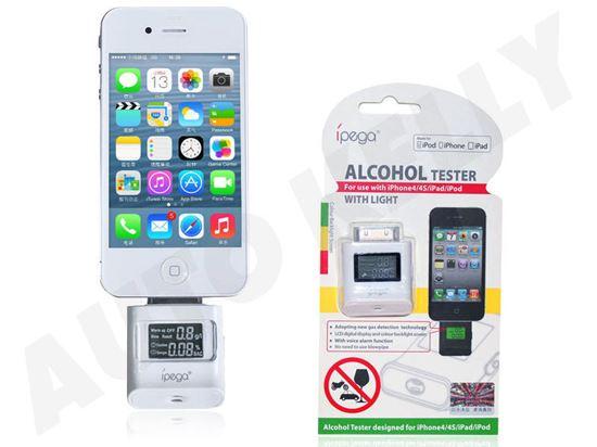 Alkohol tester za iPhone 4/4S/iPad/iPod, crni novi dio