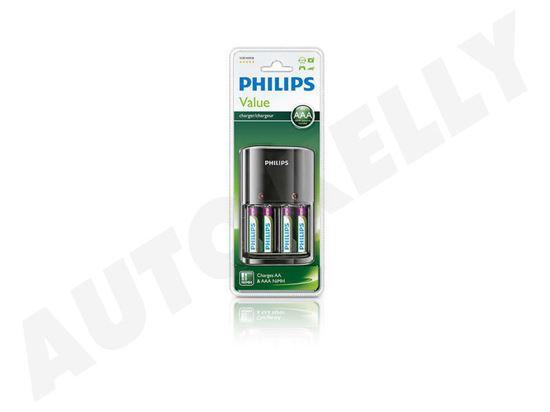 Punjač Philips baterije SCB1450NB 4aa, AAA + 4AAA novi dio