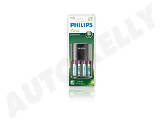 Philips punjač SCB1490nb 4aa, AAA + 4aa novi dio